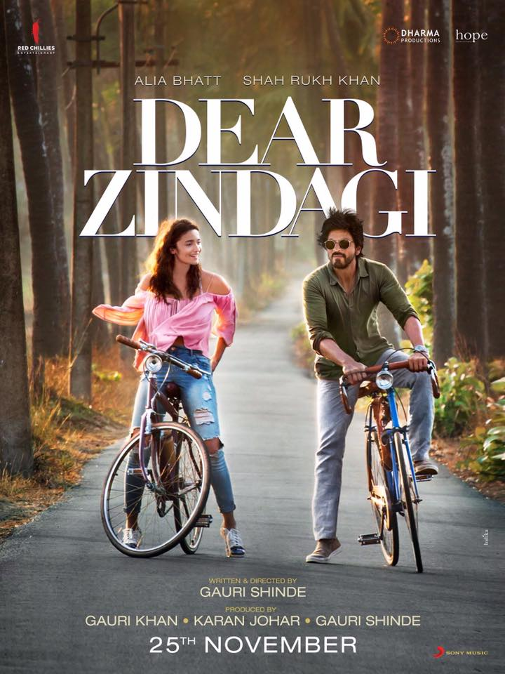 Shahrukh Khan And Alia Bhatt Create A Different Kind Of Chemistry In 'DEAR ZINDAGI' Poster