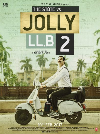 The 'JOLLY LLB 2' (2017) Trailer Offers A Rare Bollywood Protagonist