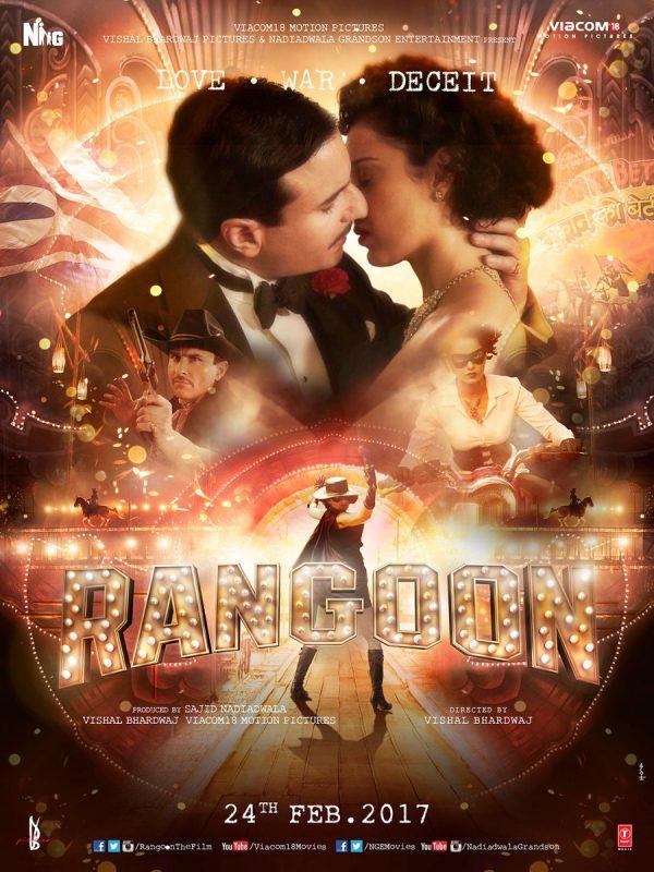 Vishal Bhardwaj's 'RANGOON' (2017) Trailer Is A Disjointed Mess