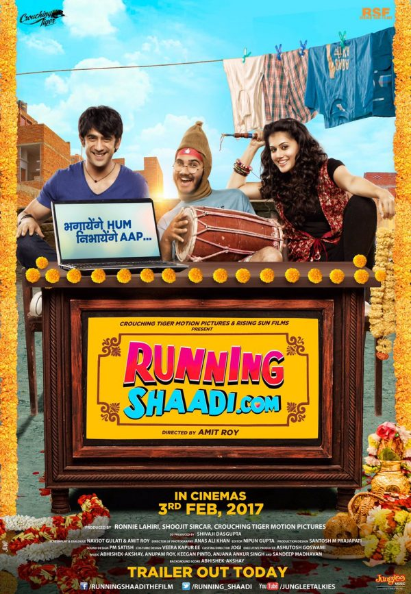 'RunningShaadi.com' (2017) Trailer Features A Fun Story With Unique Concept