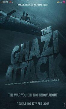 The Ghazi Attack, Rana Daggubati, Taapsee Pannu, Kay Kay Menon, 2017