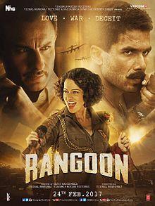 Rangoon, Shahid Kapoor, Saif Ali Khan, Kangana Ranaut, 2017