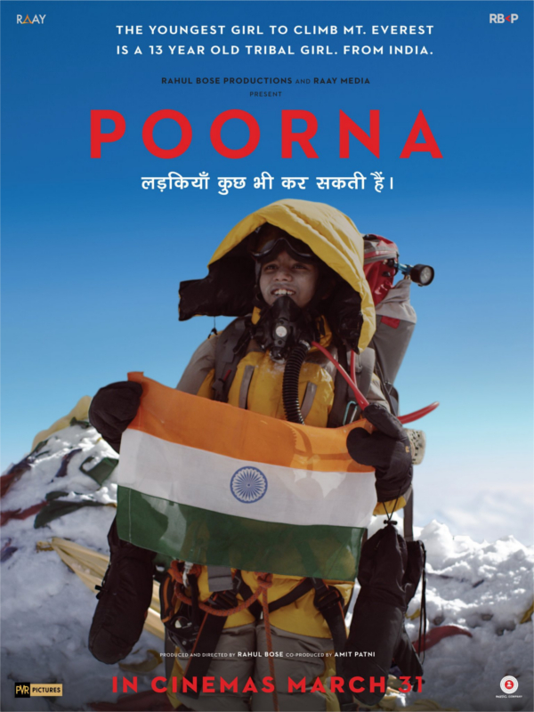 Rahul Bose Makes His Directorial Debut With 'POORNA' (2017) Based On A True Story