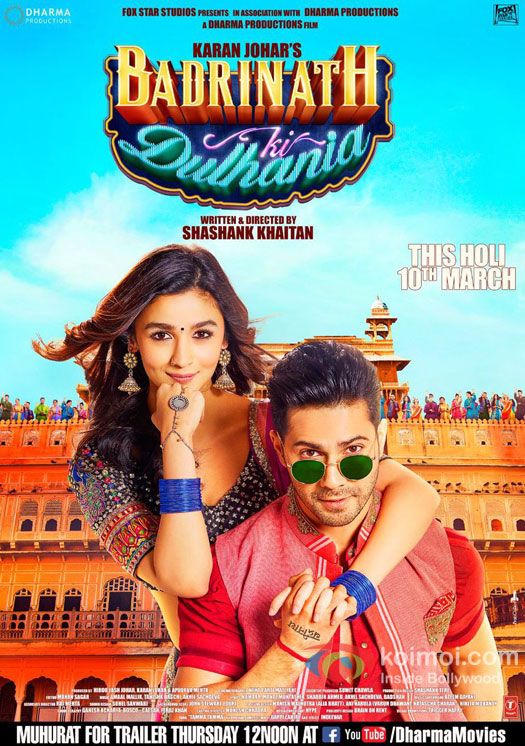 'Badrinath Ki Dulhania' gives us a male lead character that is the amalgamation of every damaging male stereotype depicted in movies with a male gaze.