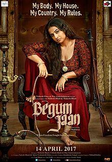 Begum Jaan, Vidya Balan, Gauhar Khan, Naseeruddin Shah, 2017