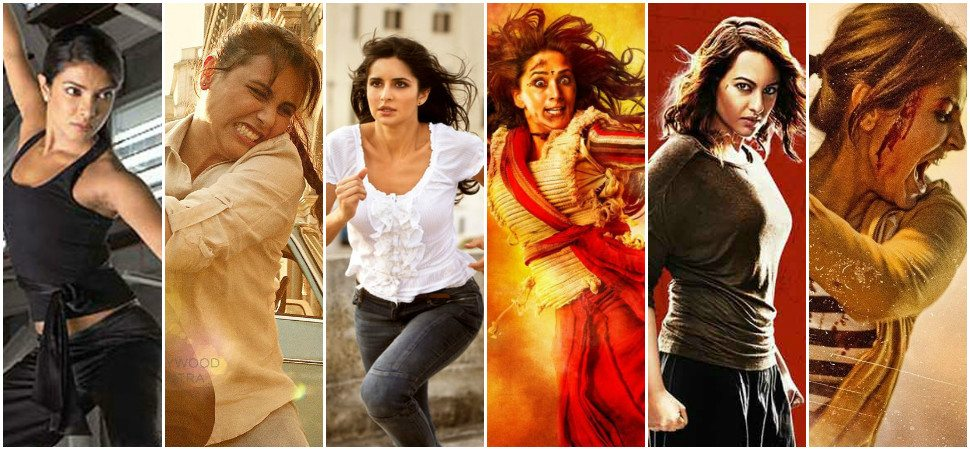 6 Bollywood Actresses That Have Kicked Major Butt In Action Movies