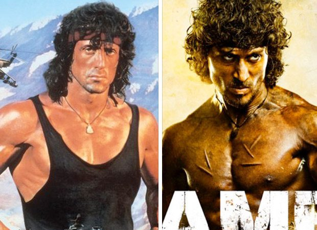 This is what Hollywood superstar Sylvester Stallone said to the new Rambo Tiger Shroff, , 2017
