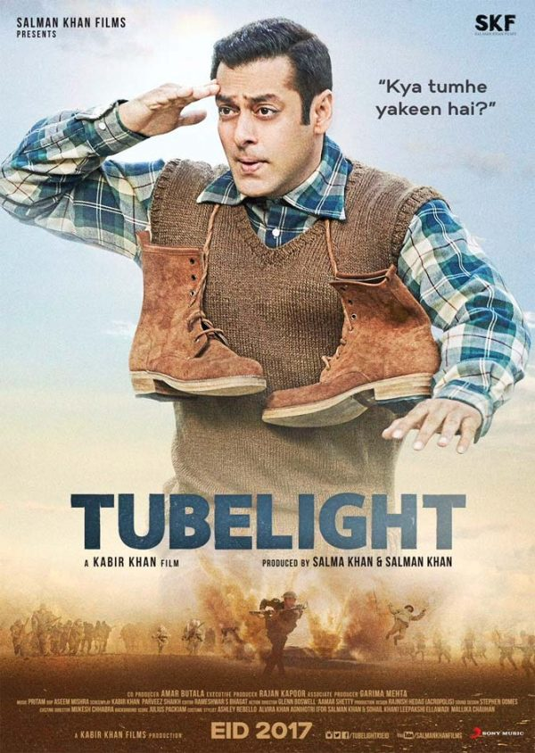 Salman Khan's 'TUBELIGHT' (2017) Trailer Points Shows A Problematic Premise