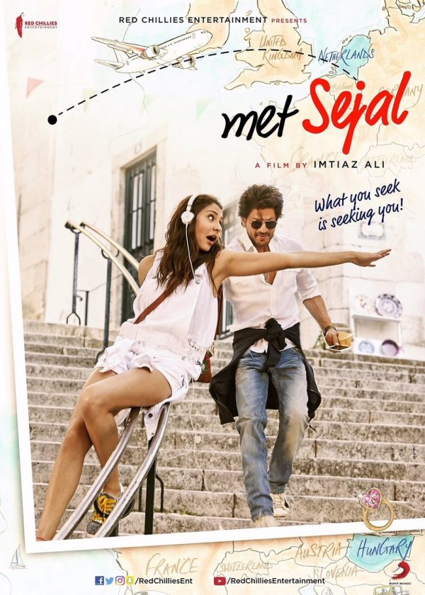 Anyone Else Creeped Out By The Womanizing SRK In 'When Harry Met Sejal' (2017) Mini Trailers?