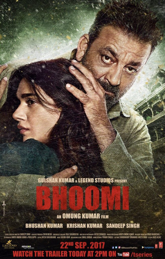 Sanjay Dutt's 'BHOOMI' (2017) Trailer Shows An Action Movie With An Aging Hero Done Right. Maybe.