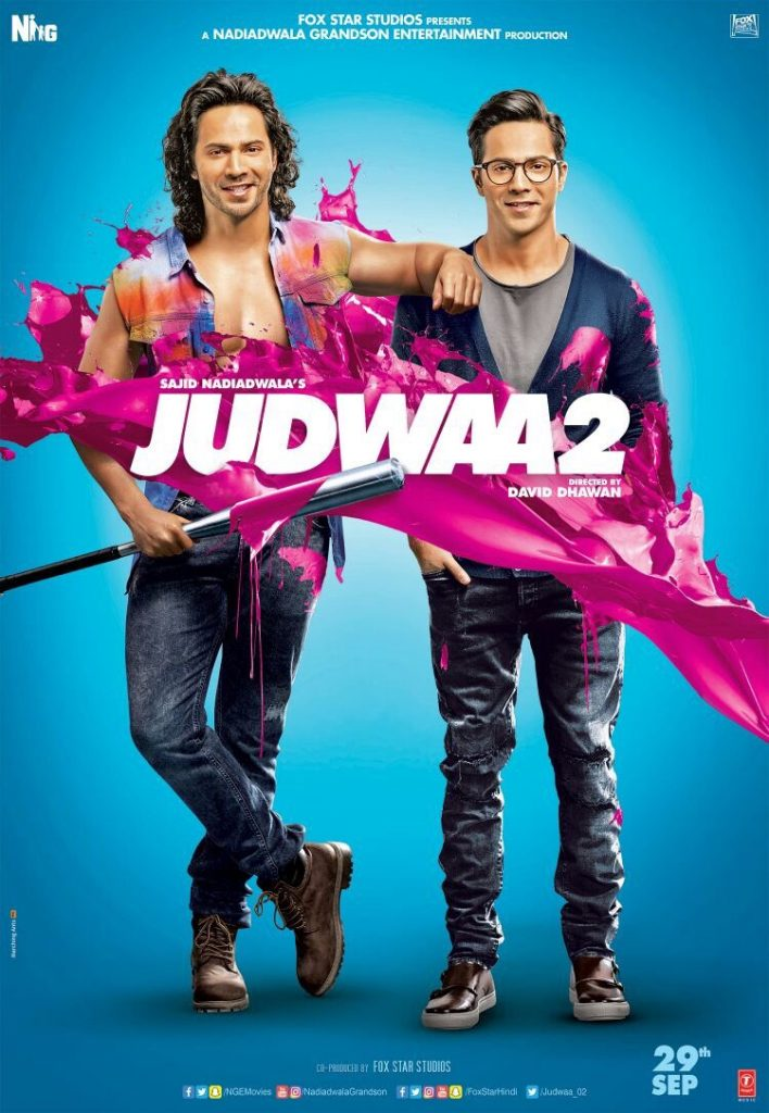 Varun Dhawan's Salman Khan Homage Is In Full Display (Among Other Things) In The 'JUDWAA 2' (2017) Trailer!