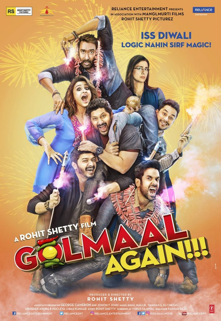 The 'GOLMAAL AGAIN' (2017) Trailer Sees An Old Director Trying New Tricks
