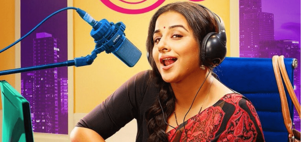 Vidya Balan Is A Sultry Aunty Ji With A Late Night Radio Show In The 'TUMHARI SULU' (2017) Trailer