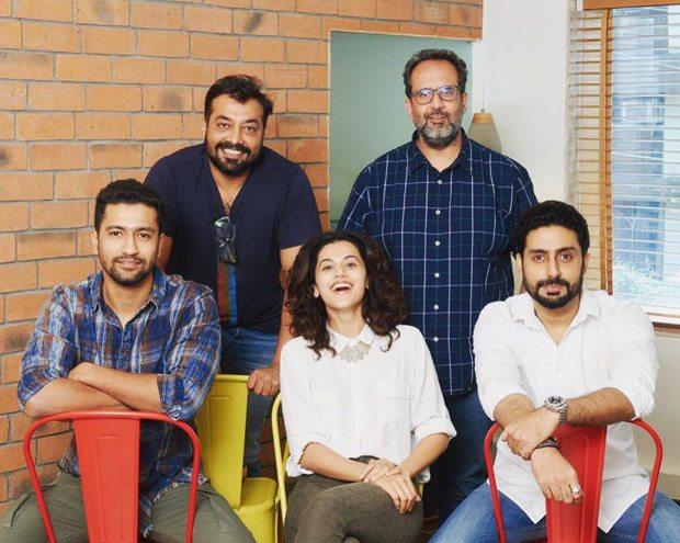 Manmarziyaan kicks off with Taapsee Pannu, Abhishek Bachchan and Vicky Kaushal in Punjab, , 2018
