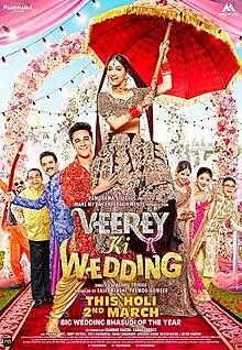 Veerey Ki Wedding, Pulkit Samrat, Jimmy Shergill, Kriti Kharbanda, Satish Kaushik, Yuvika Chaudhary, Supriya Karnik, Sapna Chaudhary, 2018